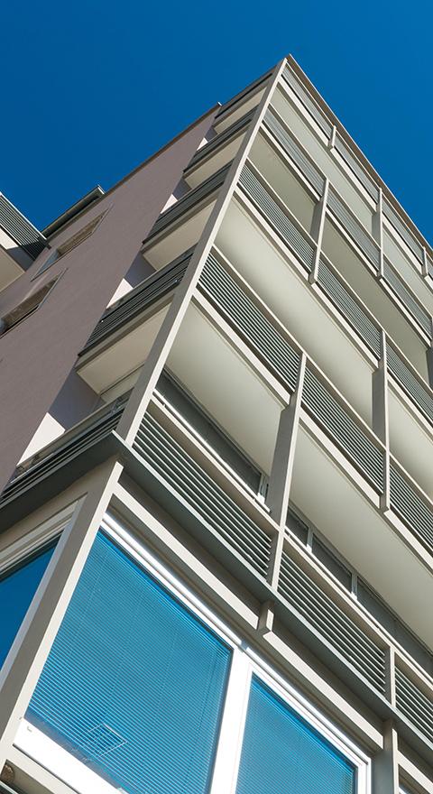 nieder ristrutturazione tetto balcone facciata